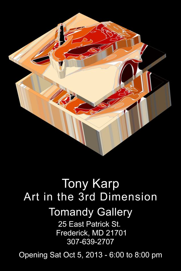 - GALLERY OPENING! . . . . .  Art in the 3rd dimension - Techno-Impressionist Museum - Techno-Impressionism - art - beautiful - photo photography picture - by Tony Karp