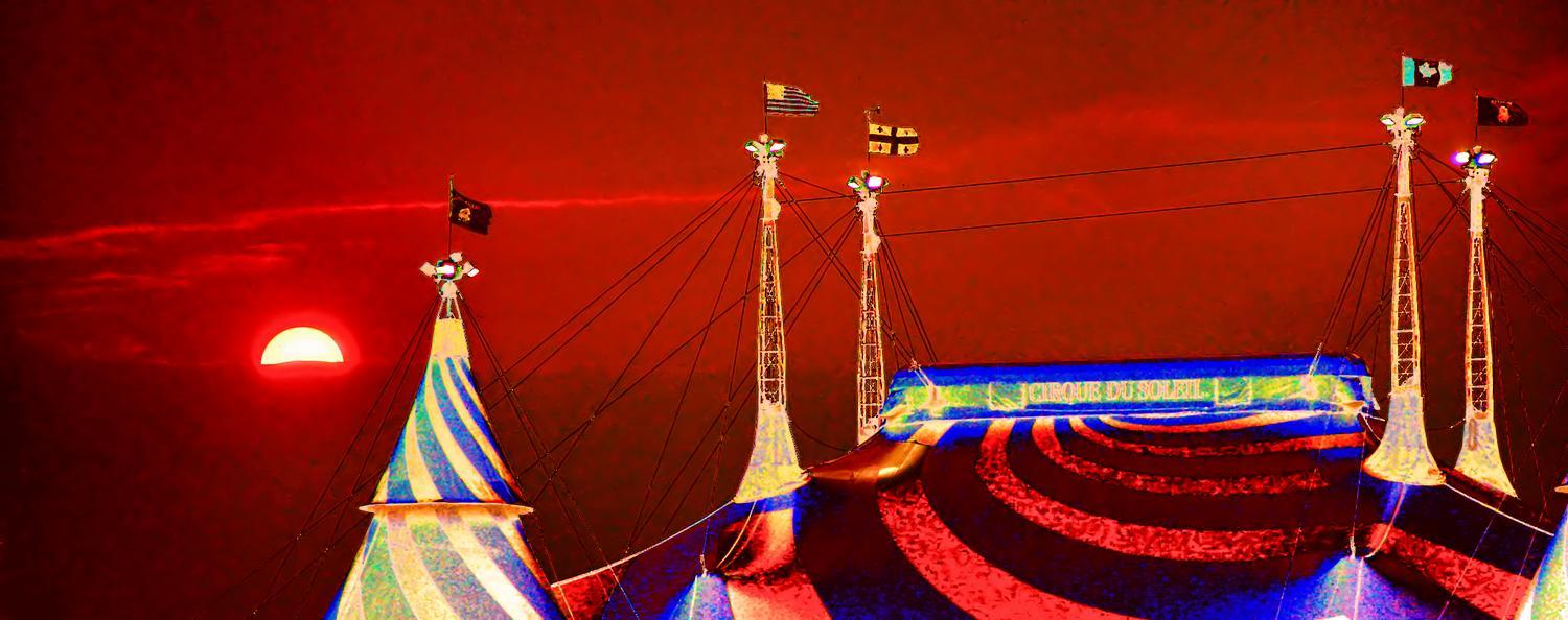 Cirque du Soleil, by Tony Karp - Cirque du Soleil - Techno-Impressionist Museum - Techno-Impressionism - art - beautiful - photo photography picture - by Tony Karp